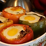 Breakfast-Stuffed Capsicums