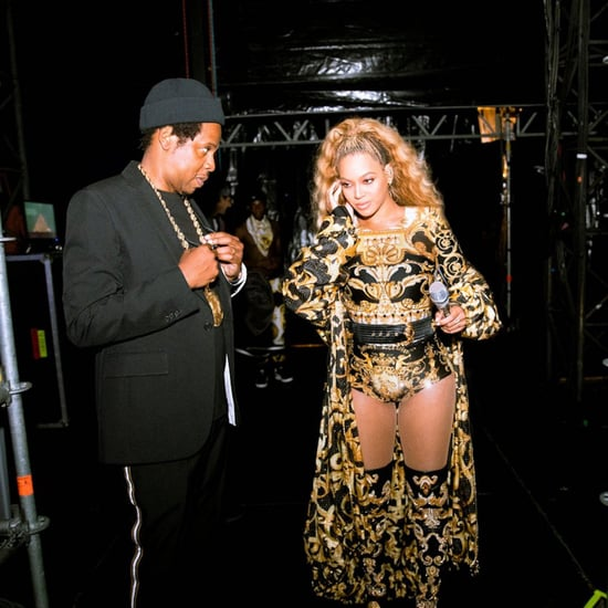 Beyoncé and JAY-Z at Concert After Man Runs on Stage Video