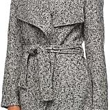 Triple Star Women's Triple Star Marled Wrap Sweater Coat