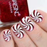 These Glittery Candy Cane Nails Look Good Enough to Eat, and They re Easy to Recreate
