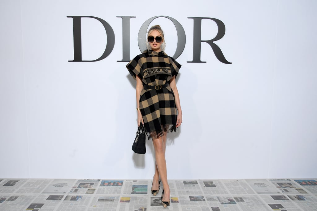 Romee Strijd at the Dior Fall 2020 Show