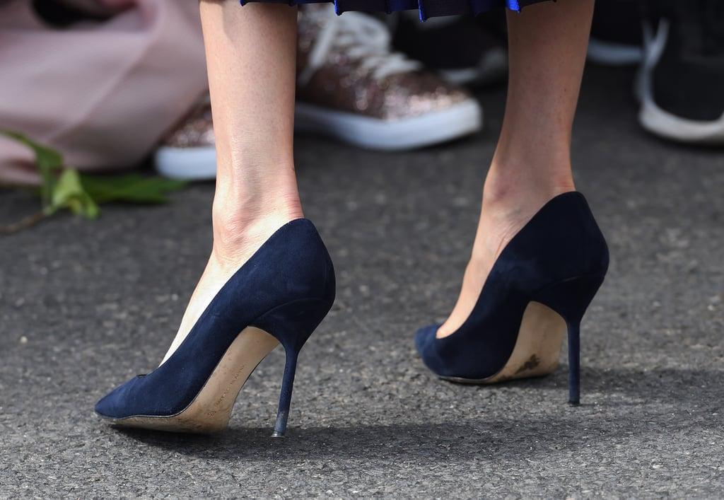 1cfaaf367756b Meghan Markle's Pregnancy Shoes | POPSUGAR Fashion