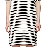 Acne Studios Ecru Striped Dodora Dress