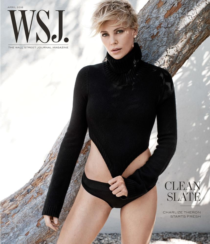 Charlize Theron Wall Street Journal April 2016