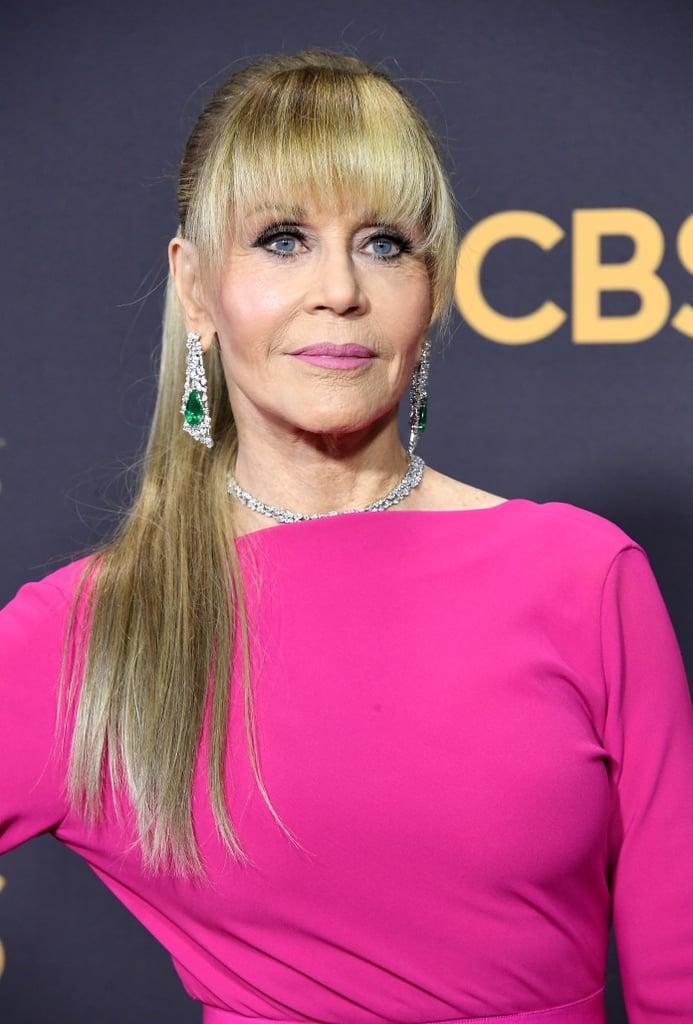 Jane Fonda S Hair At The 2017 Emmy Awards Popsugar Beauty