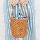 Loeffler Randall Cleo Woven Bucket Bag