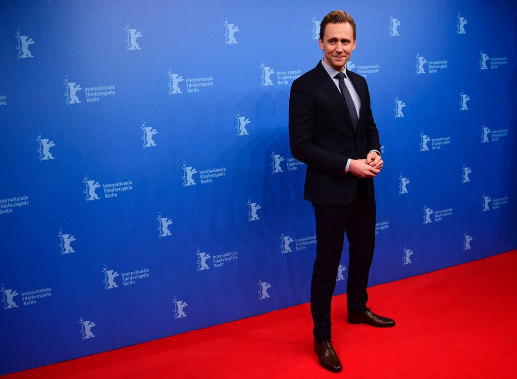 Photos of Tom Hiddleston at the Berlin Film Festival