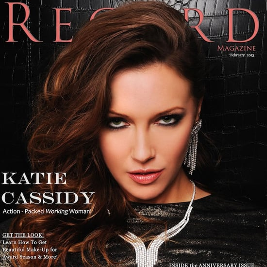Katie Cassidy Regard Cover Makeup