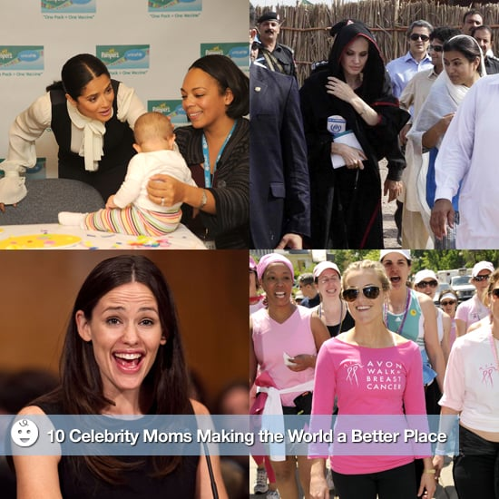 Celebrity Moms' Charitable Causes 2011-03-08 08:30:50