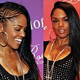 Straight and Long Side-Braided Style