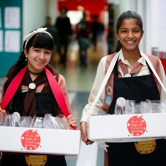 Sharjah Girl Guides Sell AED23,000 in Cookies For Orphans
