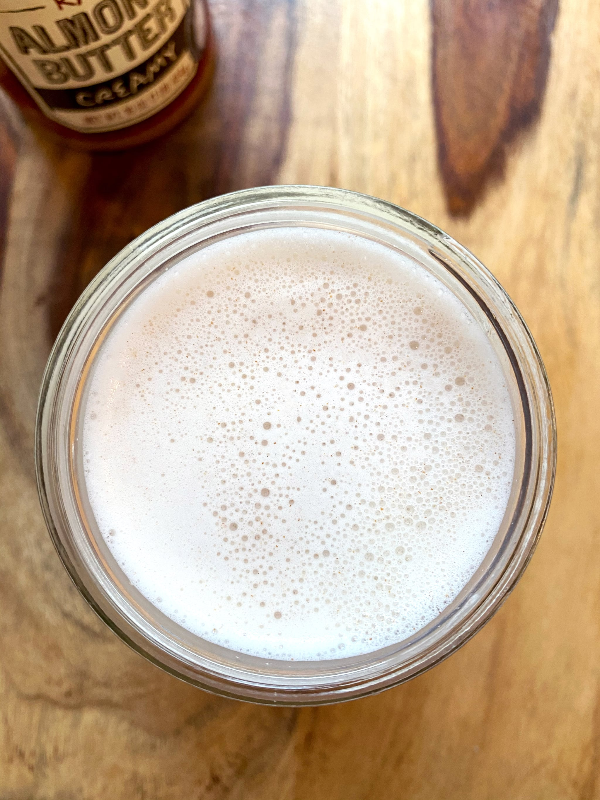 Sugar-Free Almond Milk Recipe Made From Almond Butter 6