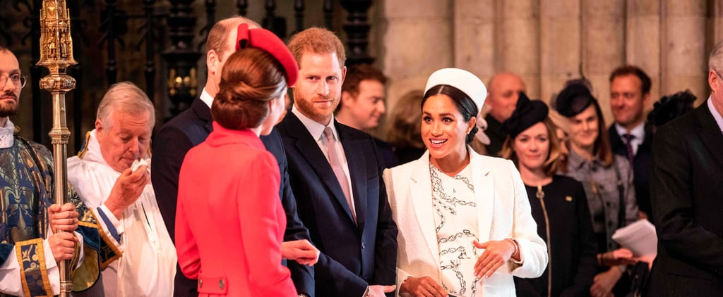 Royal Family at Commonwealth Day Service March 2019