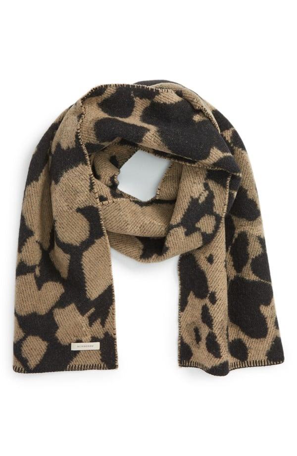 Burberry Wool & Cashmere Blanket Scarf ($263, originally $375)