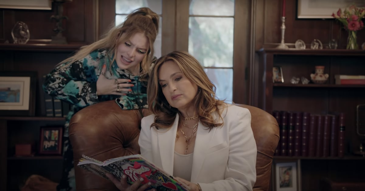 Smiley-Face Nails, Rainbow Eyeliner: This Music Video Uses Beauty (and Mariska Hargitay) to Talk Mental Health