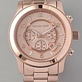 Michael Kors Watches Oversized Rose Gold Watch ($250)