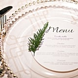 Menu Cards Add a Seasonal Touch