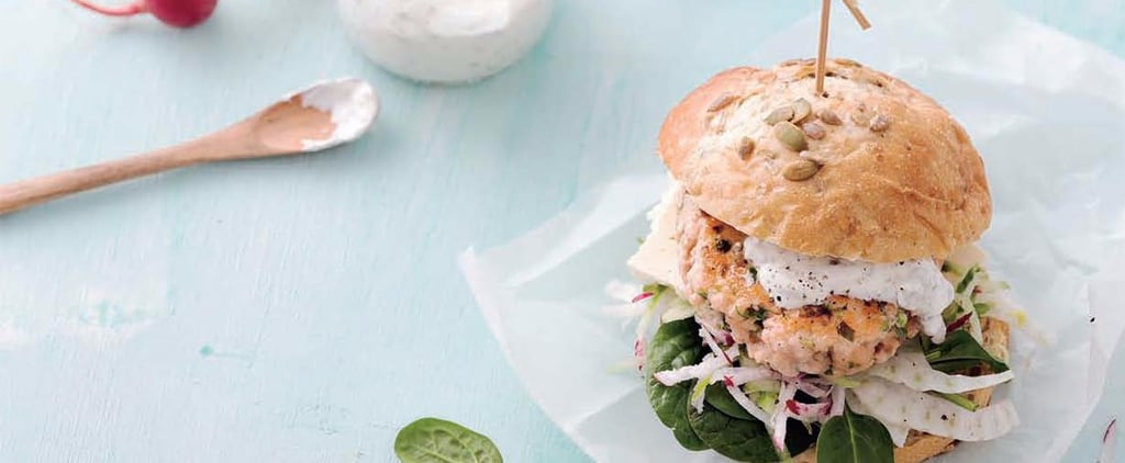 Salmon Burger Recipe by Kayla Itsines