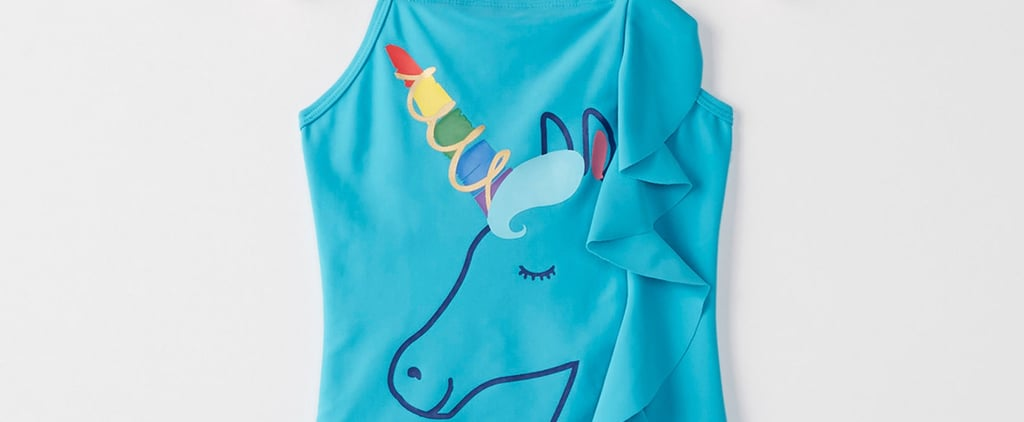 12 Unicorn Swimsuits For Kids That Will Cast a Huge Rainbow Over Their Summer