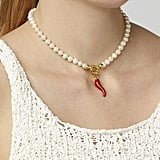 Timeless Pearly Freshwater Pearl Chilly Necklace