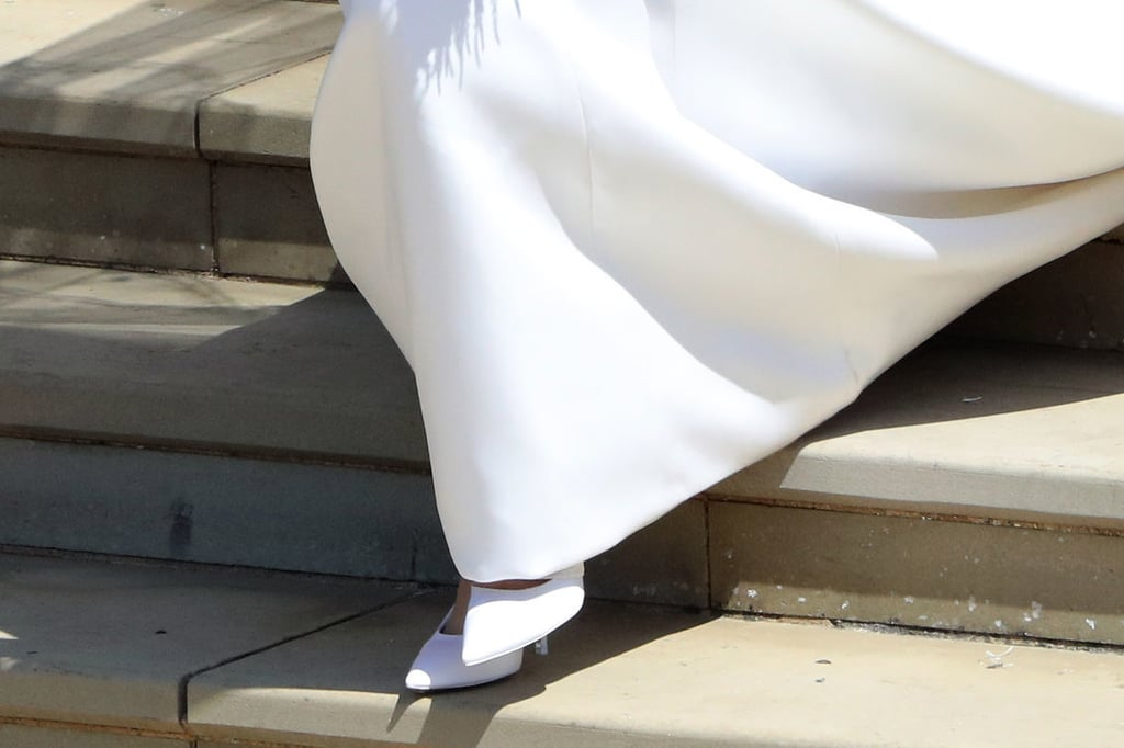 meghan markle wedding shoes popsugar fashion meghan markle wedding shoes popsugar