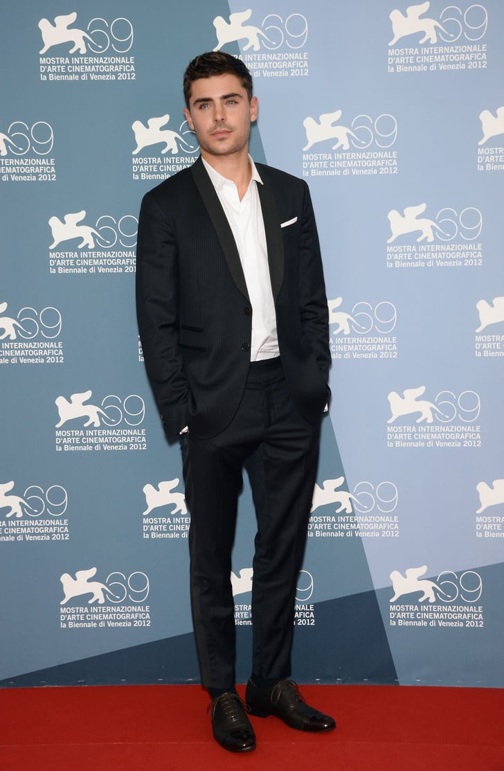 Zac Efron stepped onto the red carpet for the At Any Price photocall at the Venice Film Festival.