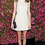 For a Chanel dinner during the Tribeca Film Festival in April 2013, Alexa obviously wore her favourite French label.