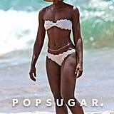 Lupita Nyong'o's Award-Winning Beach Day