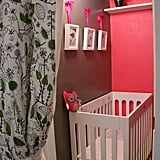A Pop of Pink Nursery Nook