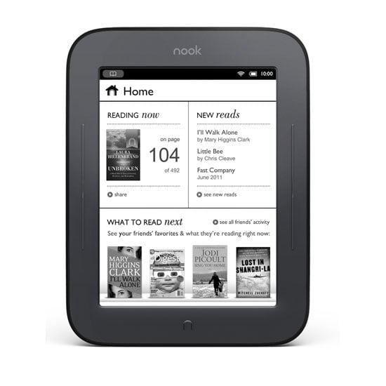 Barnes & Noble Nook Simple Touch ($140)