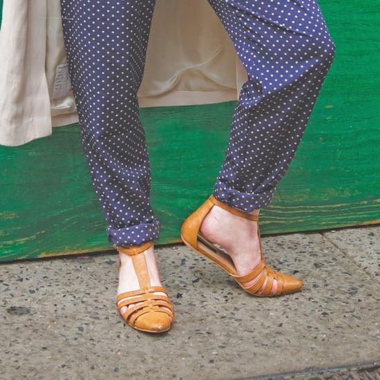 Closed-Toe Sandals