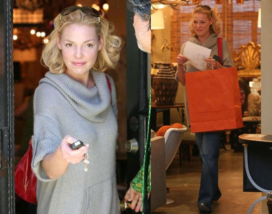 Katherine Celebrates Her First Oscars With Shopping