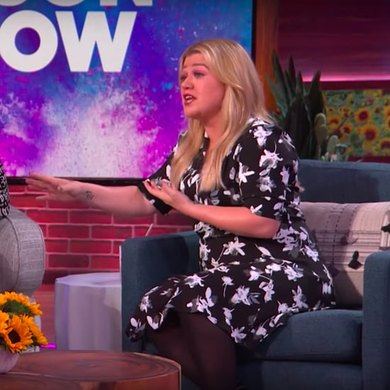 Watch Kelly Clarkson and Christina Aguilera Bond Over Kids