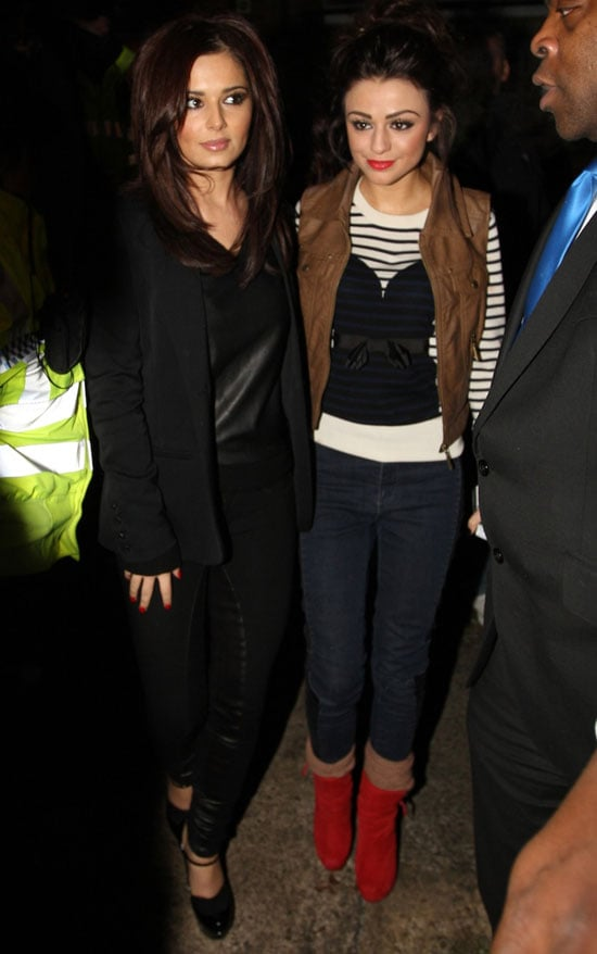 Pictures of Cheryl Cole and Cher Lloyd