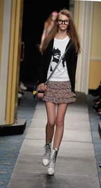 Trend Alert: Tiered Floral Miniskirts