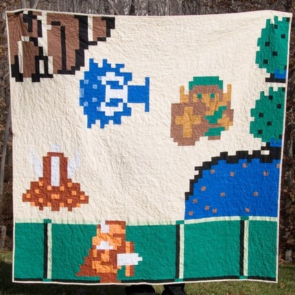 Zelda Quilt: Totally Geeky or Geek Chic?