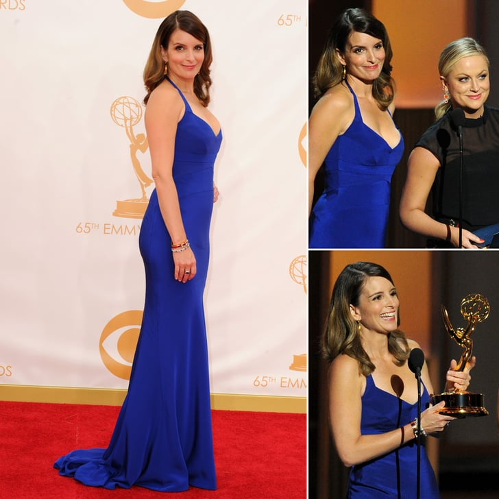 Tina Fey Rolls Into the Emmys With Amy Poehler
