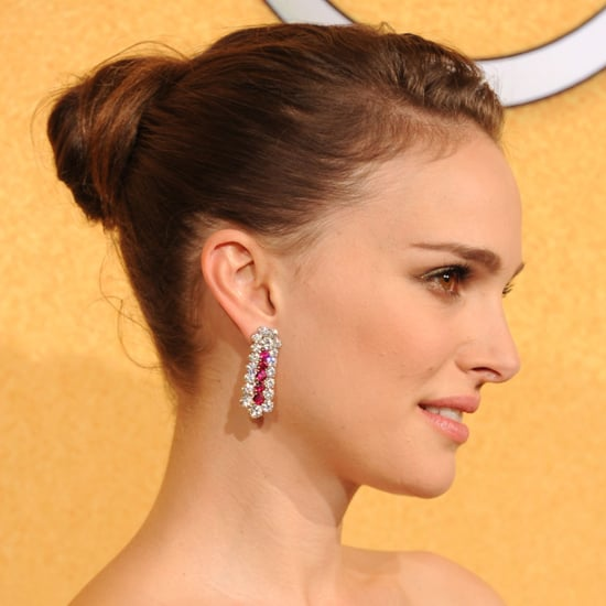 Natalie Portman's 2012 SAG Awards Hair and Makeup Look