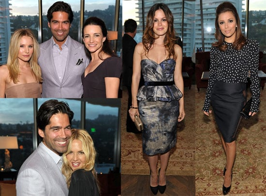 Pictures of Rachel Zoe, Rachel Bilson, Eva Longoria, and Kristin Davis at an InStyle Brian Atwood Event in LA