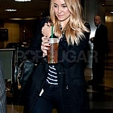 Lauren Conrad with blond hair.