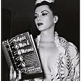 "Weegee Framed Art Print ""Showgirl Sherry Britton Reading"""