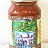 Trader Joe's Curry Simmer Sauce ($2)