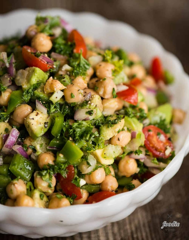 Quick and Easy Chickpea Salad