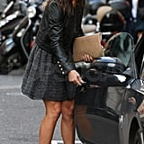 Pippa Middleton gets in her car.