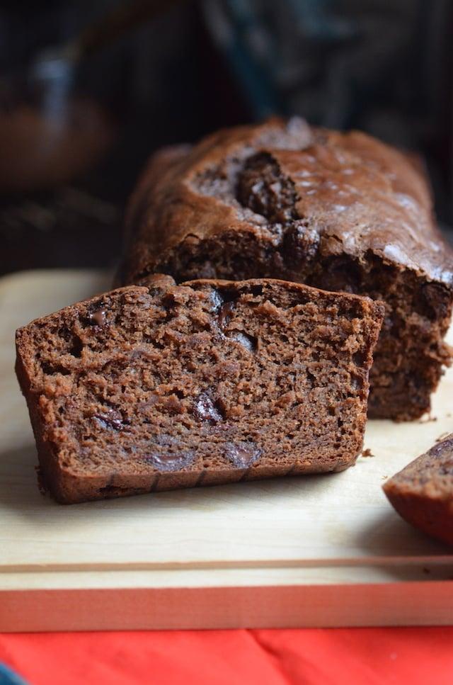 Double Chocolate Vegan Banana Bread