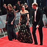 Kate Middleton and Prince William at the 2017 BAFTAs
