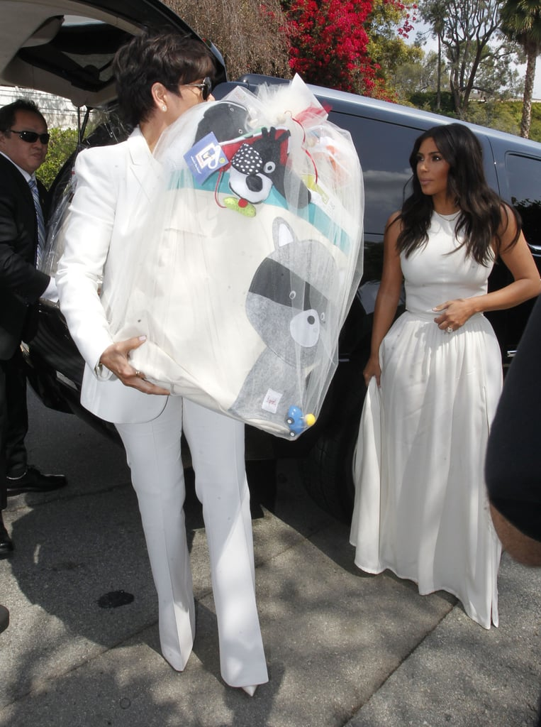 75baabcd3f9 Kim Kardashian at Ciara s Baby Shower