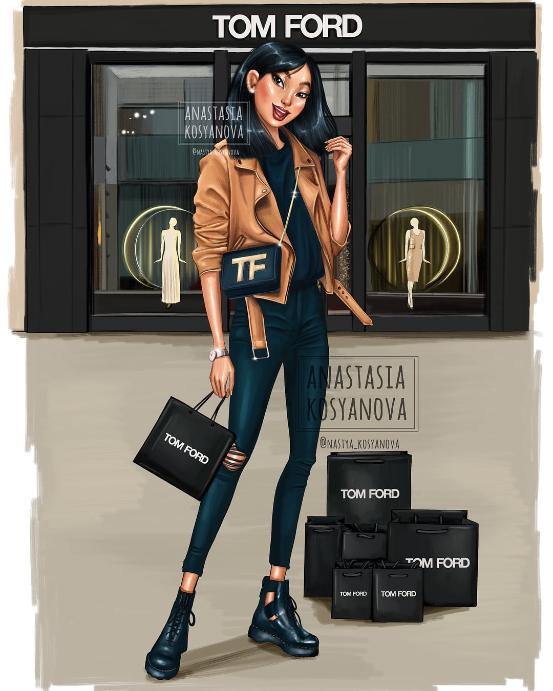 Mulan The Disney Princesses Look Impossibly Chic Reimagined As Modern Day Fashionistas Popsugar Smart Living Photo 12
