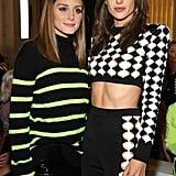 Pictured: Olivia Palermo and Alessandra Ambrosio