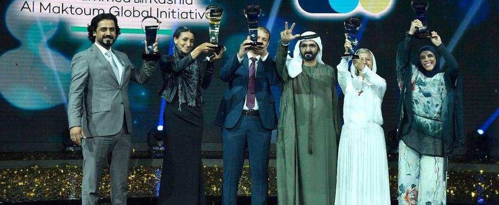 حاكم دبي يمنح كل واحد من صنّاع الأمل جائزة قدرها مليون درهم